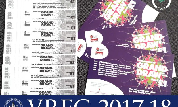 England Rugby Grand Draw Tickets 2017/18 – available now