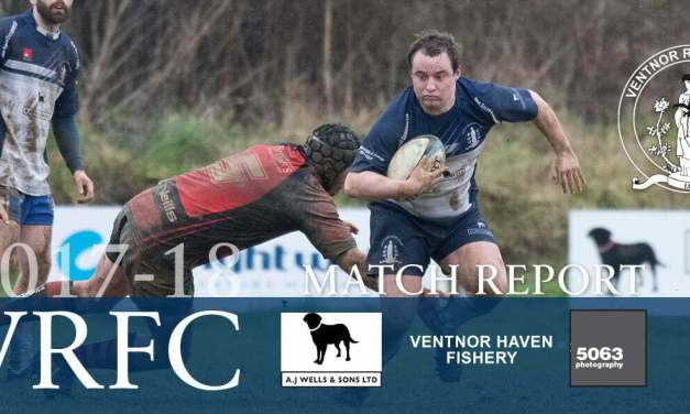 Match report: Ventnor RFC 1st XV v Fareham Heathens RFC 1st XV, 03/02/2018