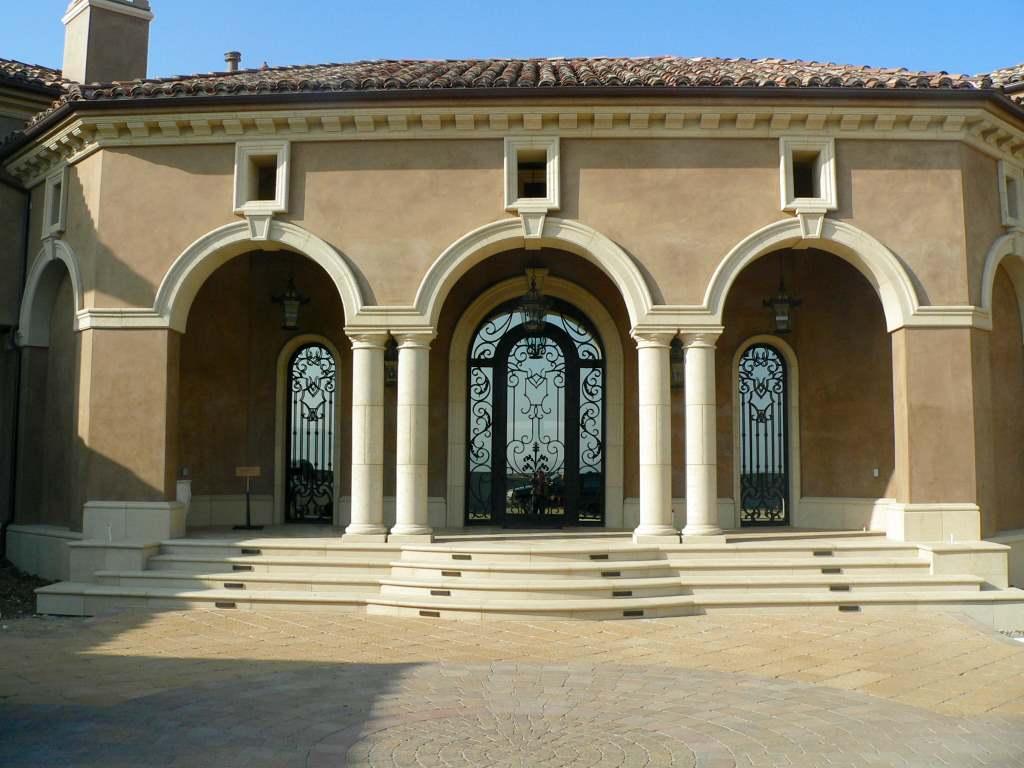 Exterior Pillars And Columns