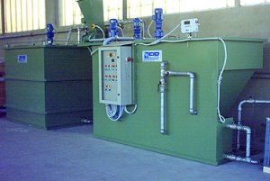 Cabine di controllo acque