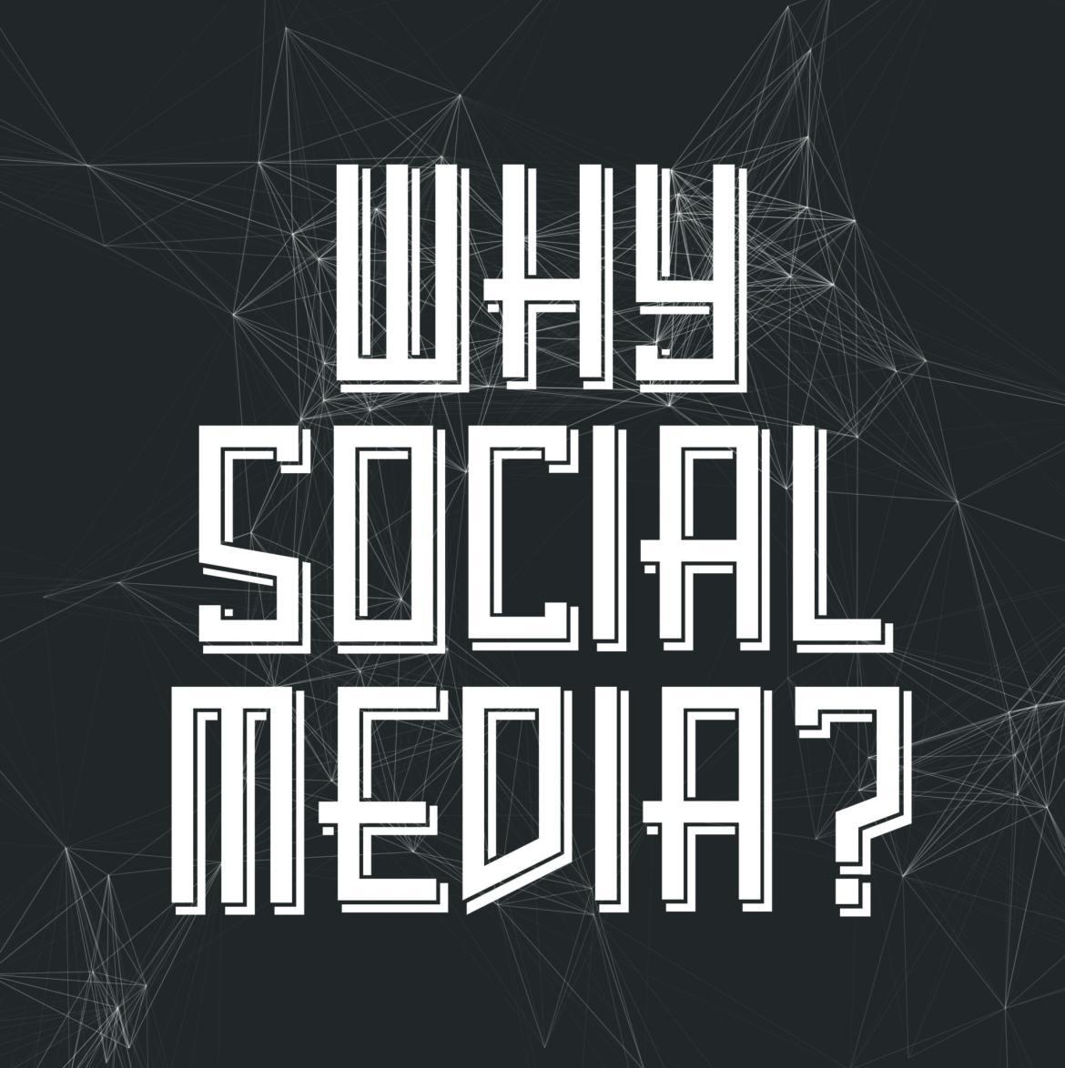 why social media art