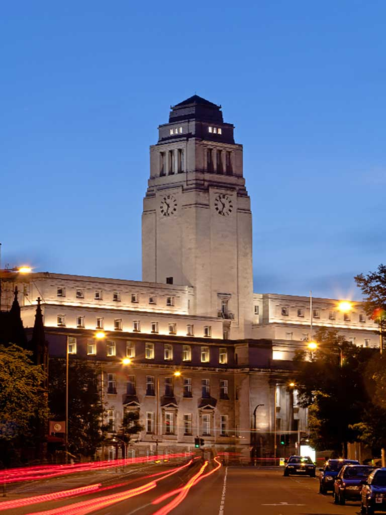 University Of Leeds Leeds West Yorkshire 187 Venue Details