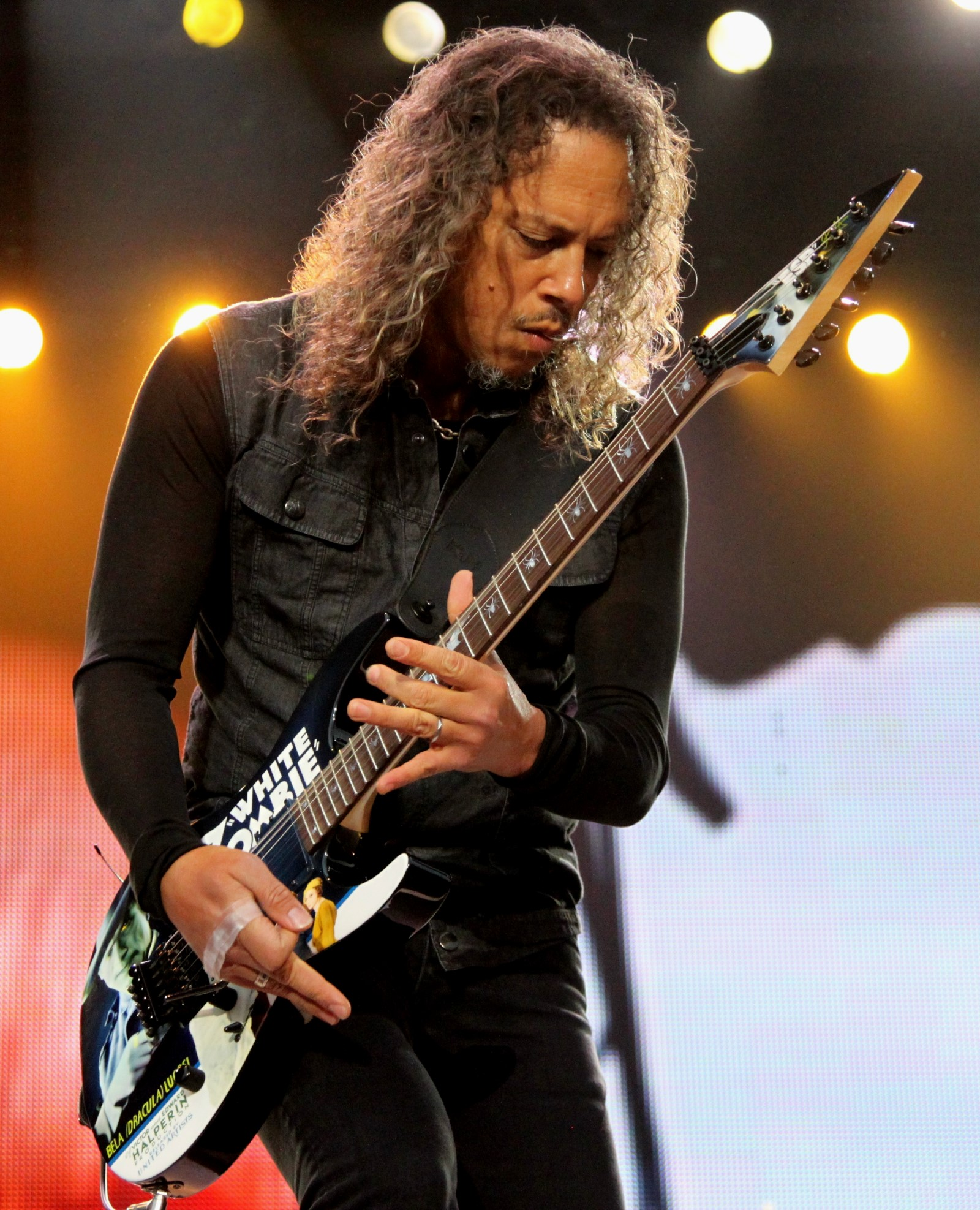 Kirk Hammett Photo Gallery On Veojam