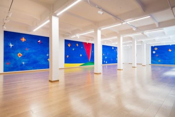 """""""Nicola De Maria. Dalla Biennale di Venezia 1990"""", Cortesi Gallery, Milano, 2017, foto di Lorenzo Croce."""