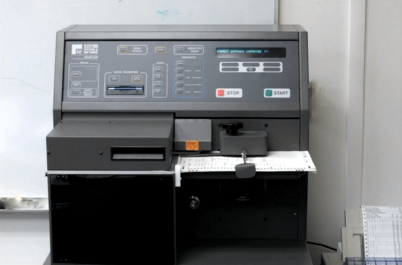 Booth Scanning Machine