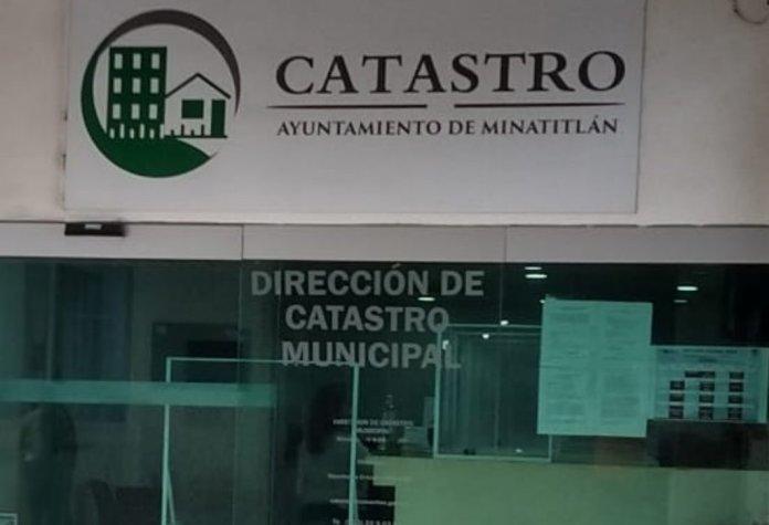 Este lunes concluirá Programa Actualización de Cédula Catastral en Minatitlán