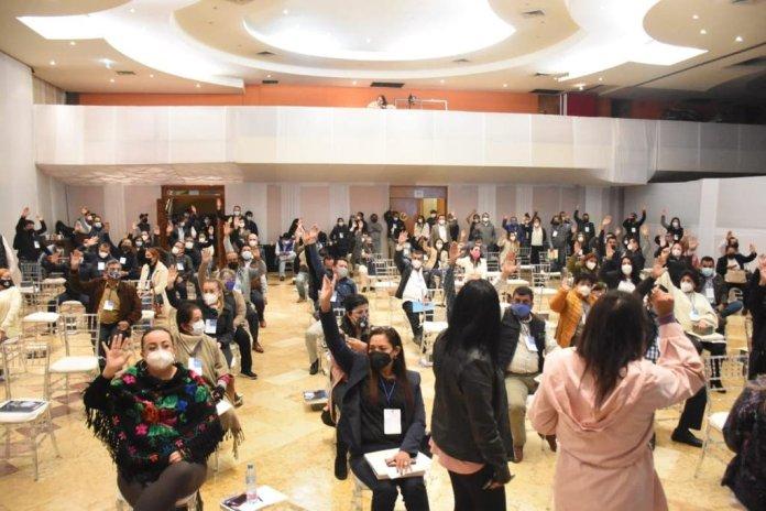Xalapa, Ver., 28 Dic-20.- Sesión extraordinaria del Consejo Estatal del PAN en Veracruz.