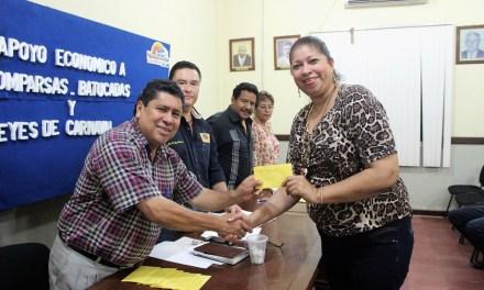 Ayuntamiento apoya a comparsas y batucadas