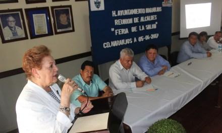 Encabeza MSH reunión de alcaldes con autoridades sanitarias
