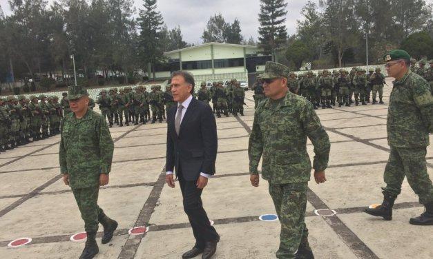Se militariza la seguridad en Veracruz.