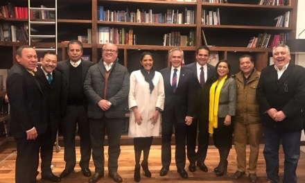 PRD y gobernadores con Miguel Angel Mancera para encabezar el Frente
