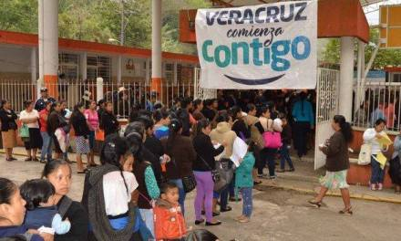"""Suspenderá Sedesol """"Veracruz comienza contigo"""" en abril por veda electoral."""