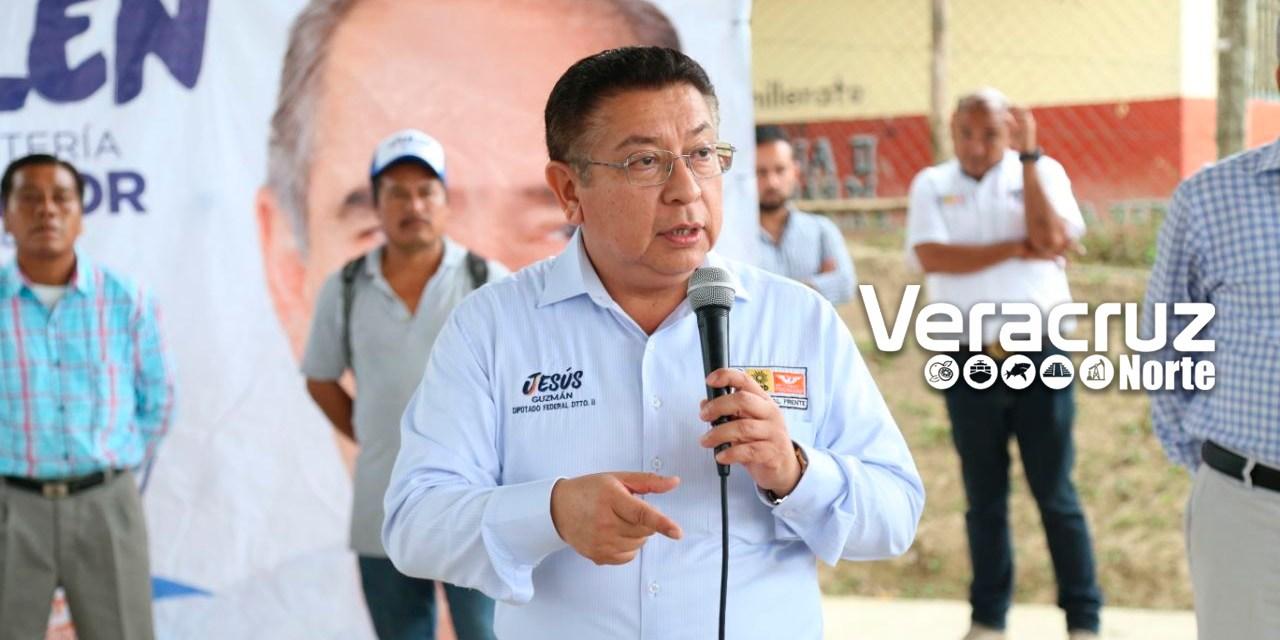 Jesús Guzmán invita a votar por la coalición Por México al Frente