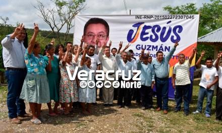 Seguiré con mi campaña propositiva: Jesús Guzmán