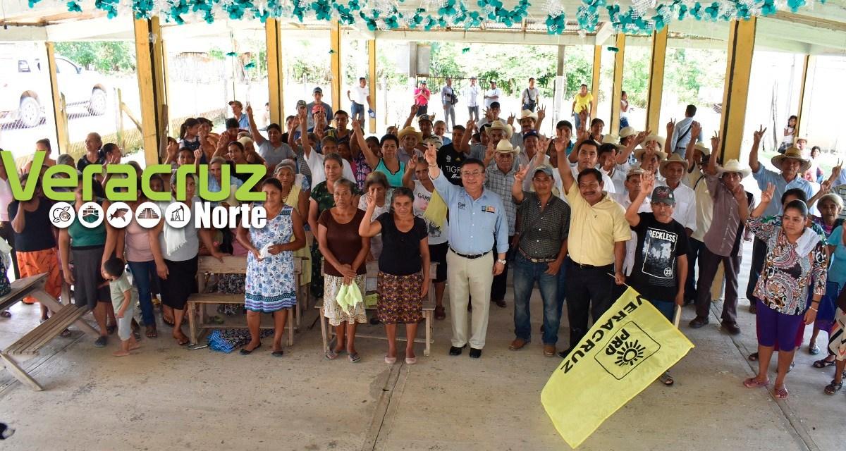 Jesús Guzmán la mejor opción para el distrito II Tantoyuca