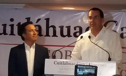 Designa Cuitláhuac García a Ernesto Pérez Astorga como titular de la Sedecop