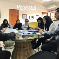 Directores de escuelas en reunión con nuevo titular de Espacios Educativos