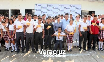 Toño Aguilar apostando firmemente a la educación