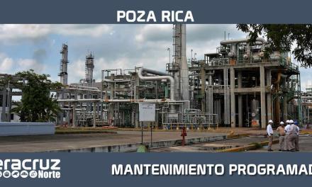 REALIZARÁ EL COMPLEJO PROCESADOR DE GAS POZA RICA MANTENIMIENTO PROGRAMADO