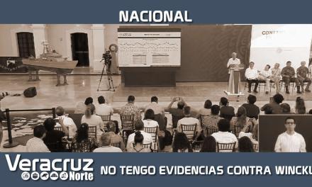 No tengo evidencias de que el Fiscal Winckler proteja a delincuentes: López Obrador