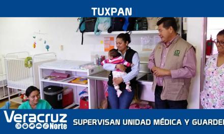 DELEGADO DEL IMSS SUPERVISA UNIDAD MÉDICA Y GUARDERÍA