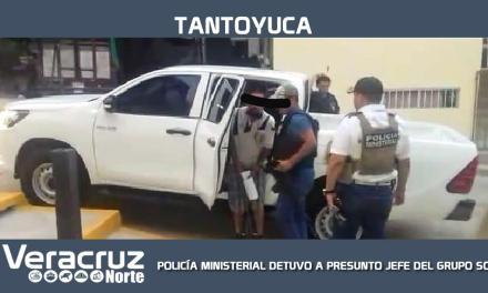 PM DETIENE A JEFE DE PLAZA DE GRUPO SOMBRA EN TANTOYUCA