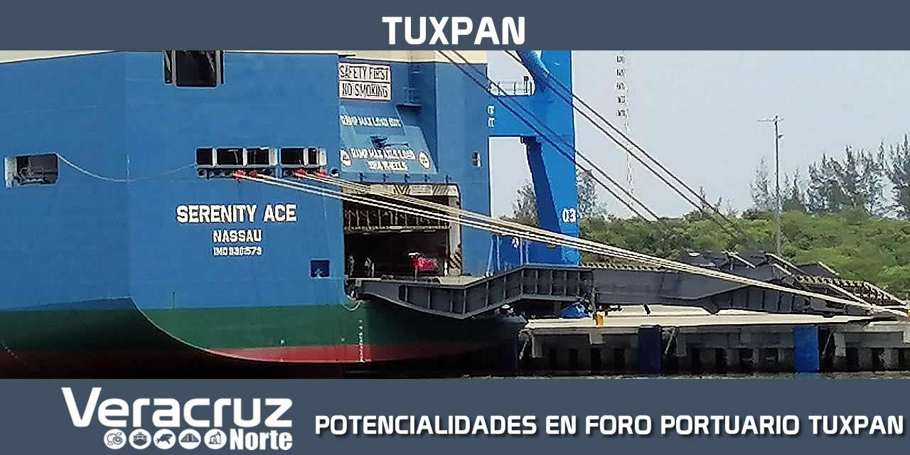 """POTENCIALIDADES EN """"FORO PORTUARIO TUXPAN"""""""