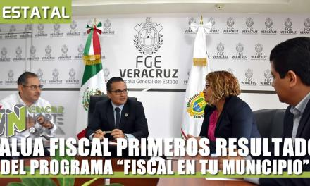 EVALÚA FISCAL GENERAL RESULTADOS DEL PROGRAMA