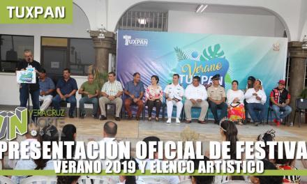 PRESENTACIÓN OFICIAL DE FESTIVAL VERANO 2019