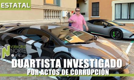 DUARTISTA INVESTIGADO POR ACTOS DE CORRUPCIÓN