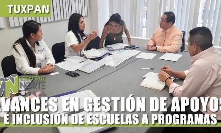 AVANCES EN GESTIÓN DE APOYOS E INCLUSIÓN DE ESCUELAS