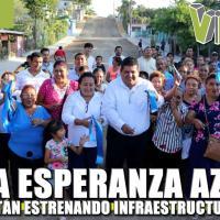 Estrenan Infraestructura en la Colonia Esperanza