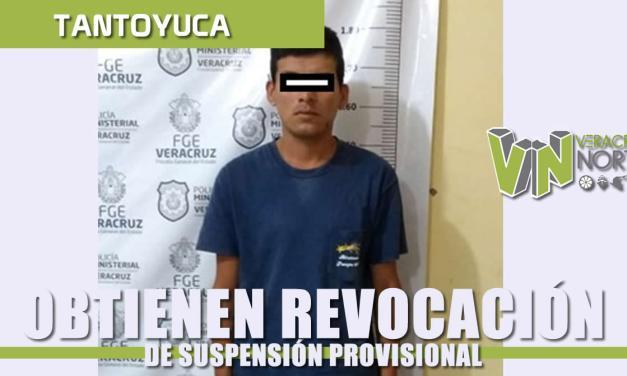 Obtiene Fiscalía Regional Tantoyuca revocación de suspensión condicional de proceso, en contra de imputado por lesiones dolosas