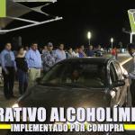 COMUPRA implementa alcoholímetro