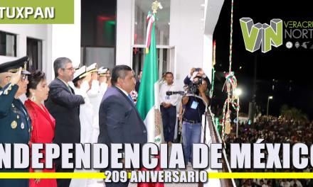 INDEPENDENCIA DE MÉXICO: 209 Aniversario