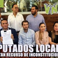 Presentan diputados locales Acción de Inconstitucionalidad para defender a Veracruz
