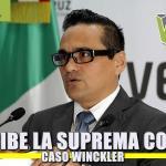 Recibe la Suprema Corte de Justicia el CASO WINCKLER