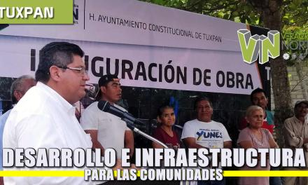 Desarrollo e infraestructura a las comunidades