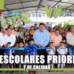 Obras Escolares Prioritarias y de Calidad: Toño Aguilar
