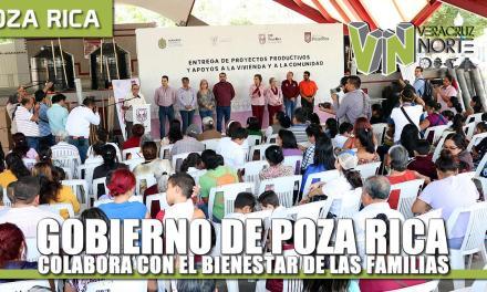 Gobierno de Poza Rica colabora con el bienestar de las familias pozarricenses