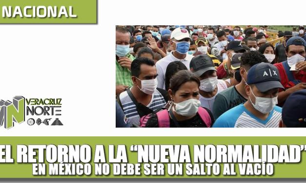 El retorno a la «nueva Normalidad» en México NO DEBE SER UN SALTO AL VACÍO: Homero Aguirre Enríquez