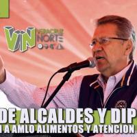 Frente de alcaldes y diputados reclaman a AMLO alimentos y atención médica para la población