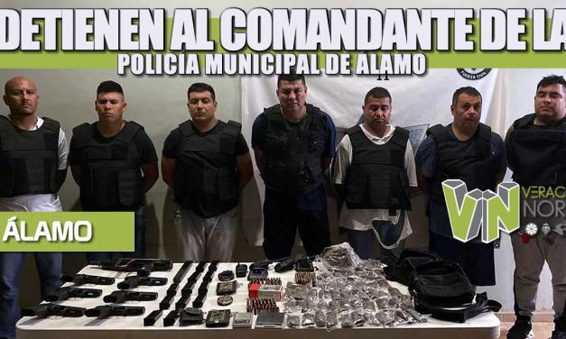 Detienen al Comandante de la POLICÍA MUNICIPAL de Álamo
