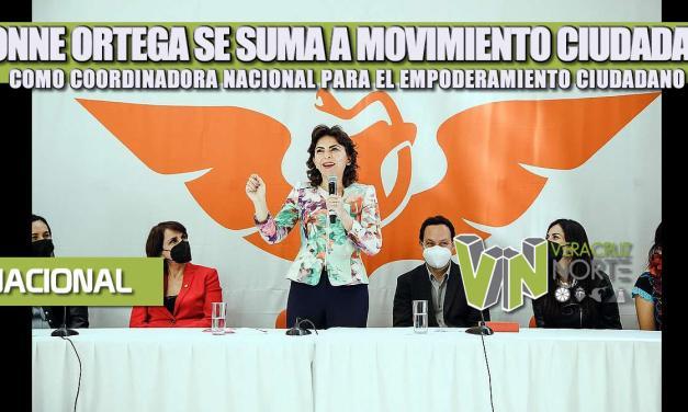 IVONNE ORTEGA SE SUMA A MOVIMIENTO CIUDADANO COMO COORDINADORA NACIONAL PARA EL EMPODERAMIENTO CIUDADANO