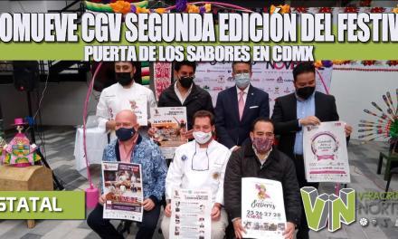 PROMUEVE CGV SEGUNDA EDICIÓN DEL FESTIVAL PUERTA DE LOS SABORES EN CDMX