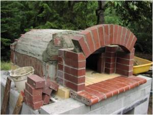 Costruzione Forno A Legna Per Pizzeria Vera Pizza