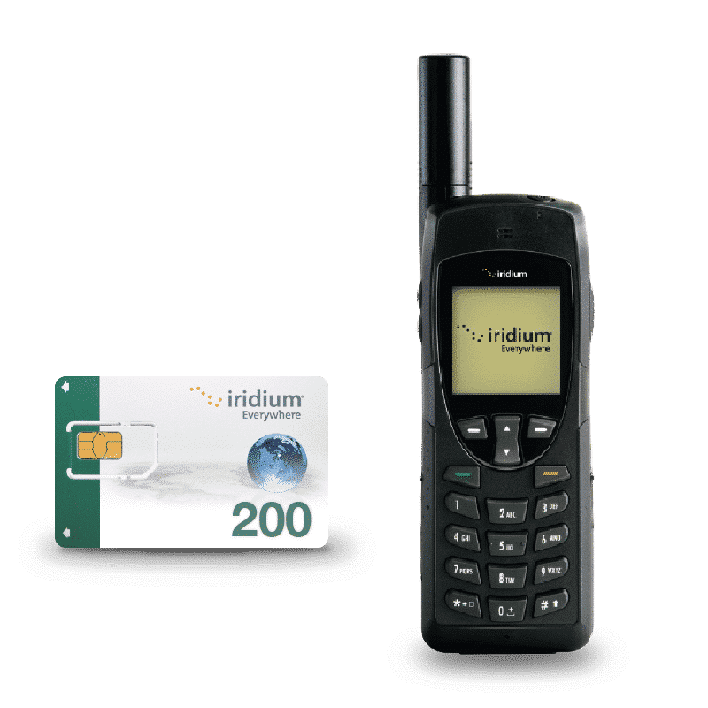 Pack Iridium 9555 with SIM card and units