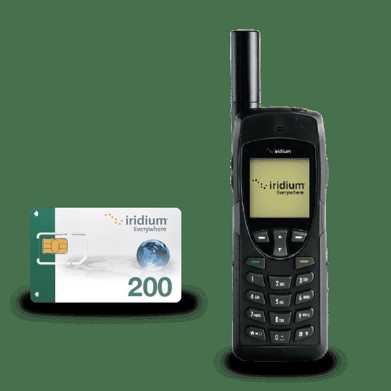 Pack Iridium 9555 con Tarjeta SIM Prepago