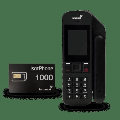 Pack IsatPhone 2 con tarjeta SIM prepago 1000 minutos