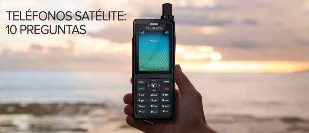 Teléfonos satelitales: 10 preguntas que revelan más sobre ellos